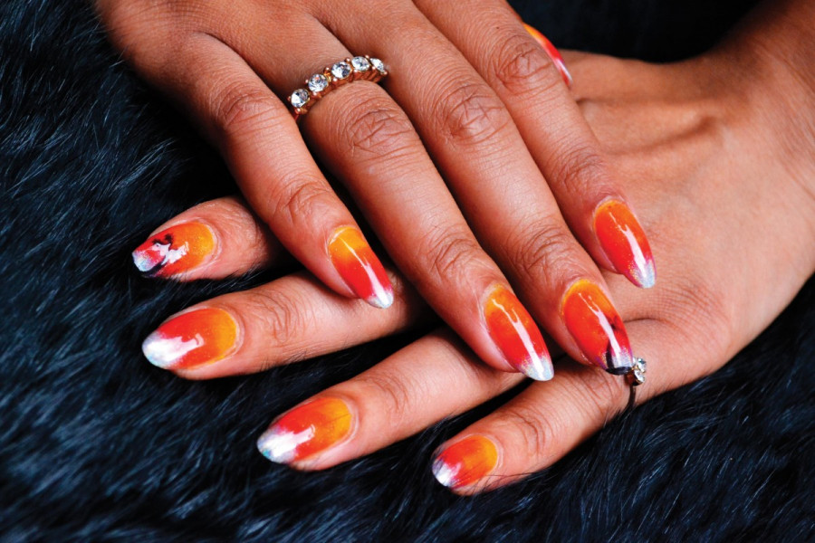 trippy nails not your average manicure fringe arts the link