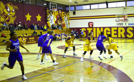 Bishop's 81, Concordia 67: Stingers Women's Basketball ...