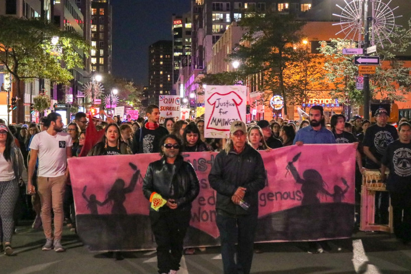 13th Annual Missing and Murdered Indigenous Women Vigil Highlights