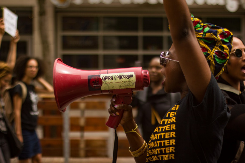 Black Lives Matter Holds Vigil in Memory of Coriolan ...